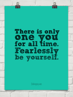 fearlessly be you